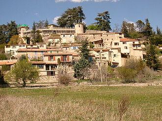 Le hameau de Lincel